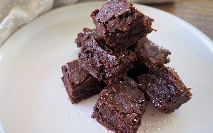 Cannabis Fudge Brownie Bites